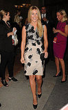 Julianne Hough wore a graphic dress to the Kodak Theatre in LA.