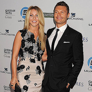 Ryan Seacrest and Julianne Hough at LA Promise Gala Pictures