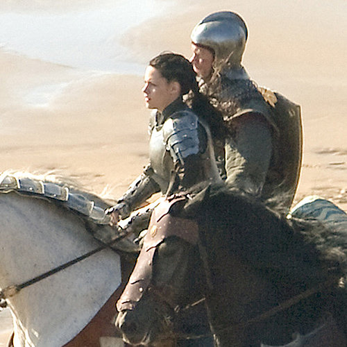 "Kristen Stewart Fotos vom Set für Schneewittchen ""Snow White and the Huntsman"""