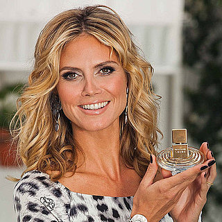 Heidi Klum at Shine Fragrance Launch in LA Pictures