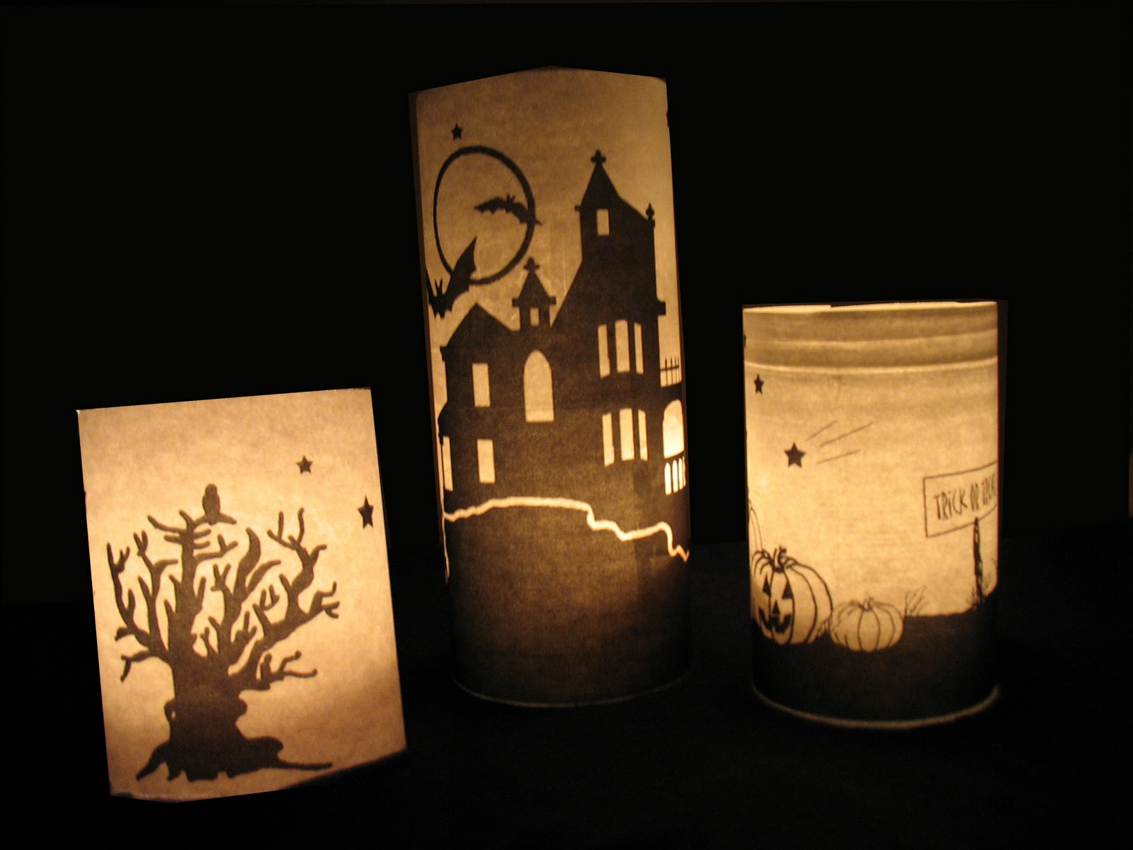Pottery barn inspired luminaries get spooky 16 diy for Homemade luminaries