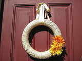 Fall Sisal Rope Wreath