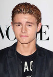 Callan McAuliffe showed off his Great Gatsby blonde hair at Teen Vogue's Young Hollywood party in LA on Sept. 23.