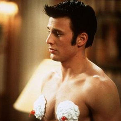Chris Evans Whipped Cream Bikini Scene From Not Another Teen Movie