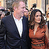 Salma Hayek and Rachel Zoe at Paris Fashion Week Pictures