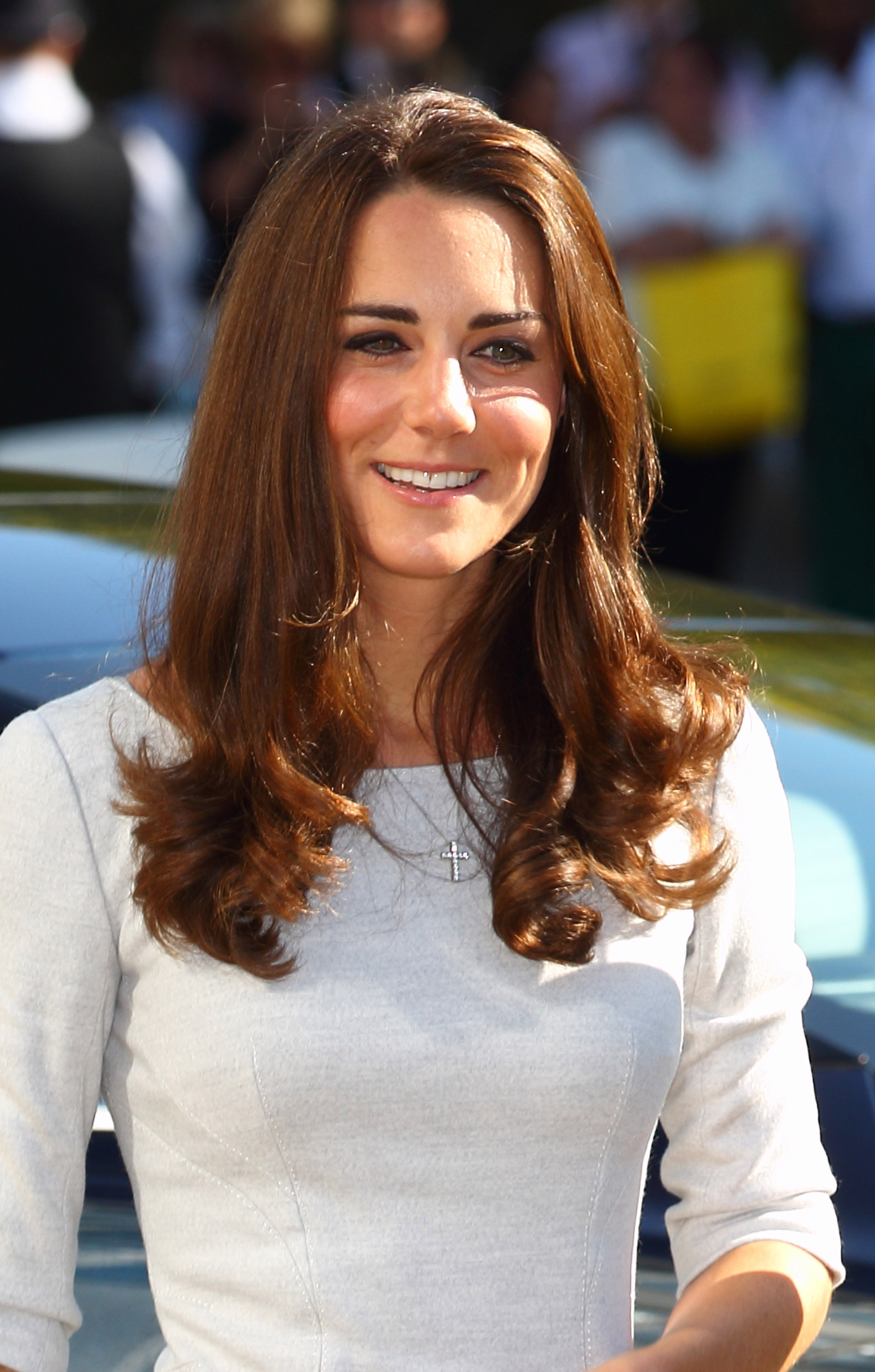 Kate Middleton smiled at the opening of the Oak Center For Children and Young People.