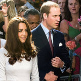 Prince William and Kate Middleton Pictures at Royal Marsden Hospital