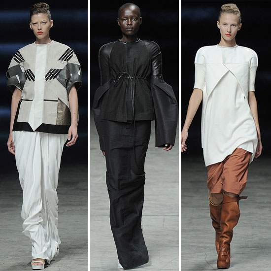 Rick Owens: Spring 2012