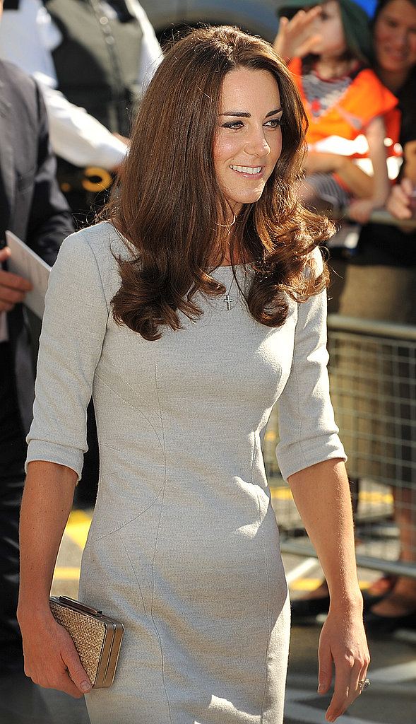 Kate arrives at the hospital.