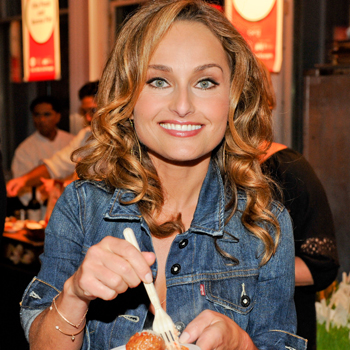 Giada De Laurentiis at the 2011 NYC Wine & Food Festival