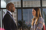 Billy Brown as Mike Anderson and Jennifer Carpenter as Debora Morgan on Dexter. Photo courtesy of Showtime