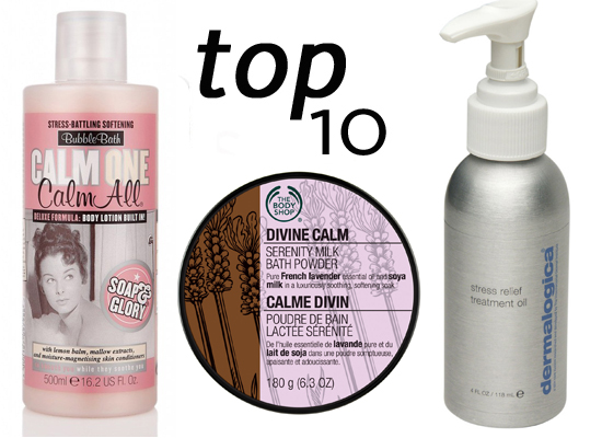 10 of the Best: Products to Calm and De-Stress This Weekend