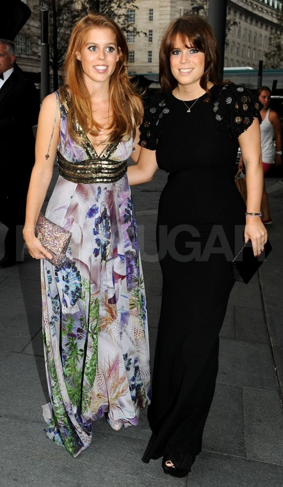 Princess Beatrice and Princess Eugenie going to the Boodles Boxing Ball.