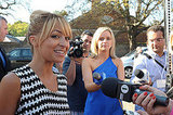 Nicole Richie at a Disney event.
