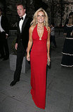 Geri Halliwell and Henry Beckwith head to the Boxing Ball.