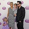 Nicole Richie Pictures at Disney Party With Joel, Harlow, Sparrow Madden