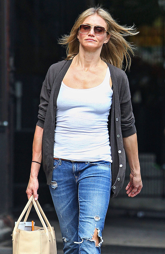 Cameron Diaz in jeans.