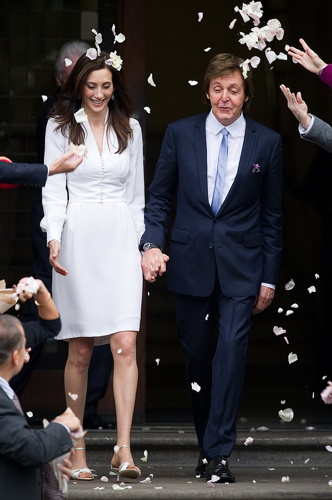 Paul McCartney and Nancy Shevell Wedding