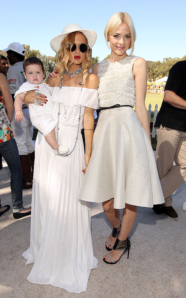 Jaime King, Rachel Zoe and Skyler Berman showed the many ways to wear white in LA.