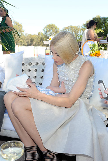 Arthur Bleick and Jaime King