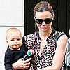 Miranda Kerr Paris Fashion Week Runway and Flynn Bloom Pics