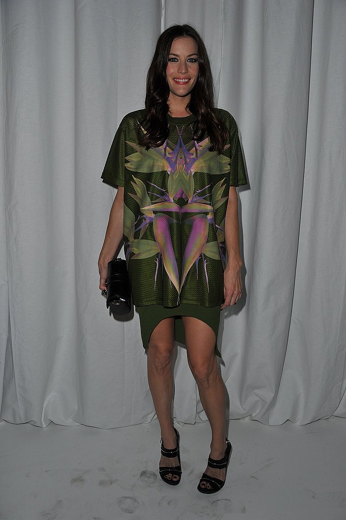 Liv Tyler rocked a bold print at Givenchy.