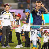 The Beckhams Have a Boys' Night Out as David Takes on Real Salt Lake