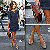 Alexa Chung at Paris Fashion Week Spring 2012