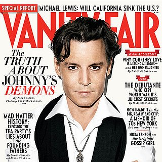Johnny Depp on the Oct. 2011 Cover of Vanity Fair