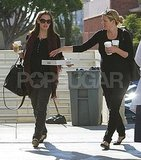 Jennifer Garner made a Starbucks run in LA.