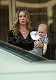 Christina Applegate spent time with her daughter, Sadie LeNoble.