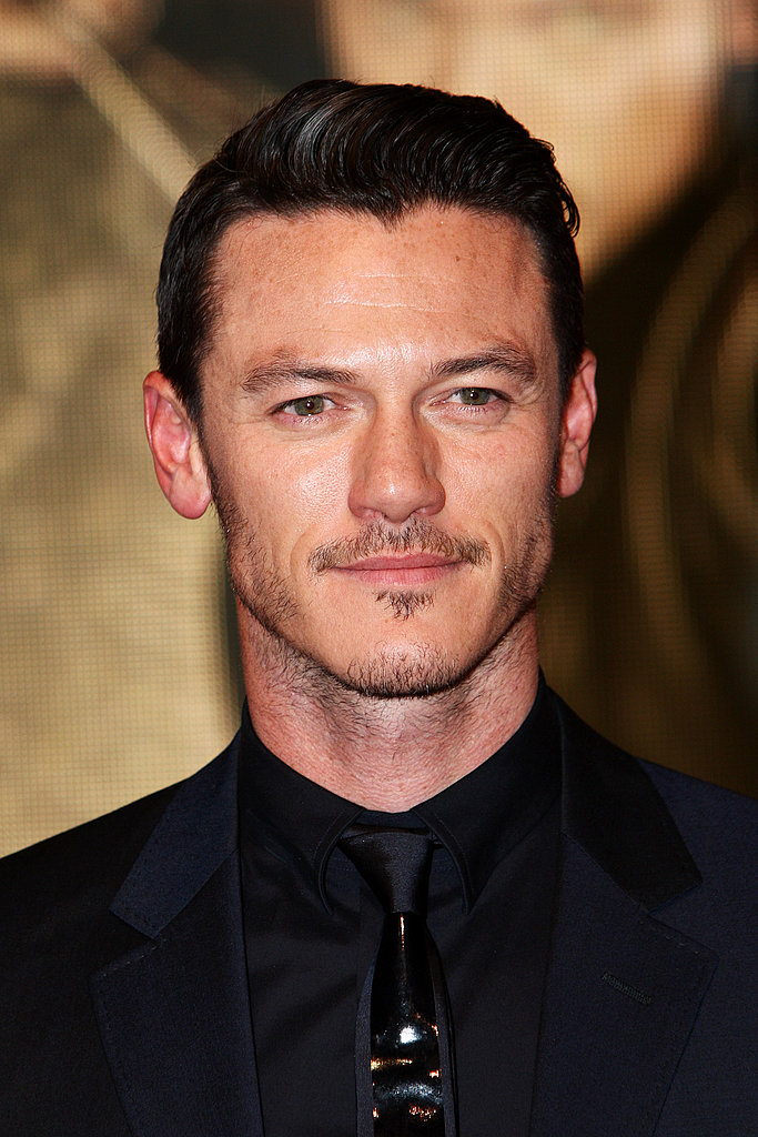 Luke Evans at the London premiere of The Three Musketeers.