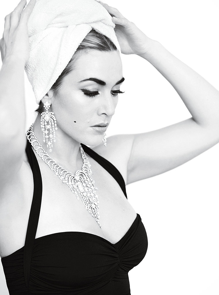 Kate Winslet got glam for an October 2011 V photo shoot.