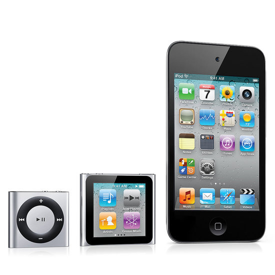 iPod Touch, iPod Nano Pictures and Updates