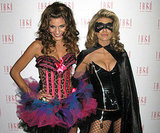 AnnaLynne McCord was a sexy Batman with her sister Rachel at a Las Vegas event in 2009.