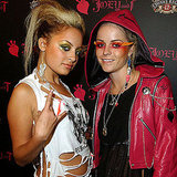 Nicole Richie went for a wild look in 2003 as she partied with Taryn Manning.