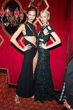 Karlie Kloss and Abbey Lee