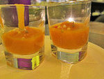 Carrot Soup in a Shot Glass