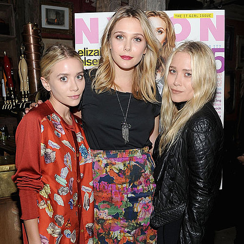 Mary-Kate and Ashley Olsen With Elizabeth Olsen Pictures in NYC