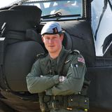 Prince Harry in California For Helicopter Training (Video)