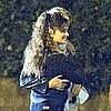 Penelope Cruz Dancing Pictures on Venuto al Mondo Rome Set
