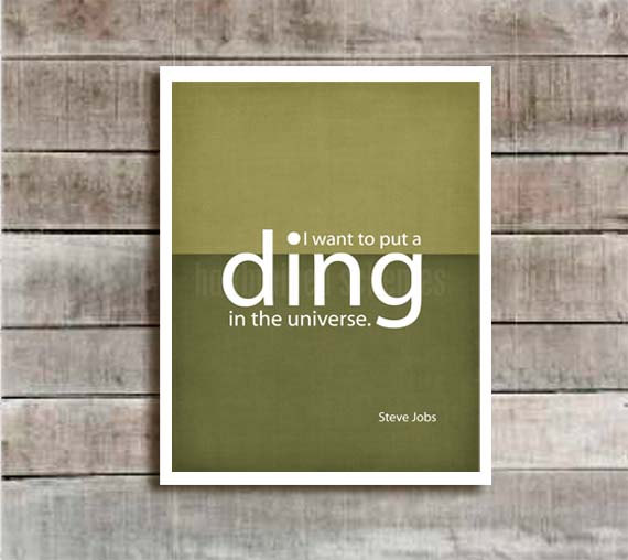 Ding in the Universe ($15)