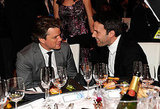 Matt Damon and Ben Affleck chatted at the January 2011 Critics Choice Awards.
