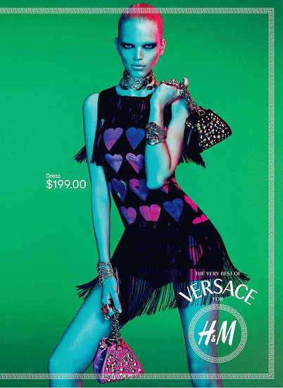 See the Versace For H&M Campaign