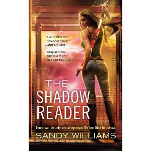 THE SHADOW READER - A BOOK REVIEW