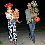 Jessie From Toy Story Gwen Stefani went all out for a trick-or-treating run as Woody's female counterpart, Jessie.
