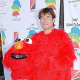 Elmo Jerry O'Connell took a cue from one of Sesame Street's most beloved Muppets.