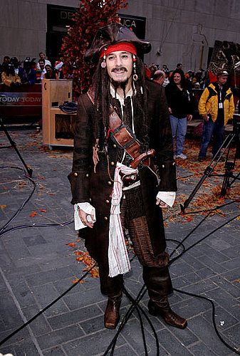 Jack Sparrow Matt Lauer went full Captain Jack for the Today show.