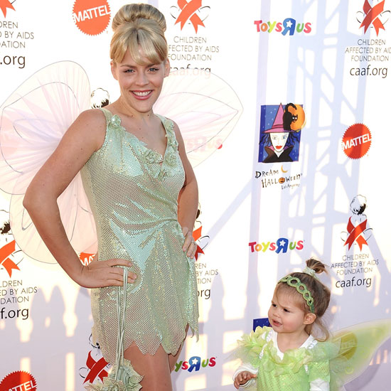 Tinkerbell Cougar Town's Busy Philipps made the perfect Tink alongside her daughter Birdie.