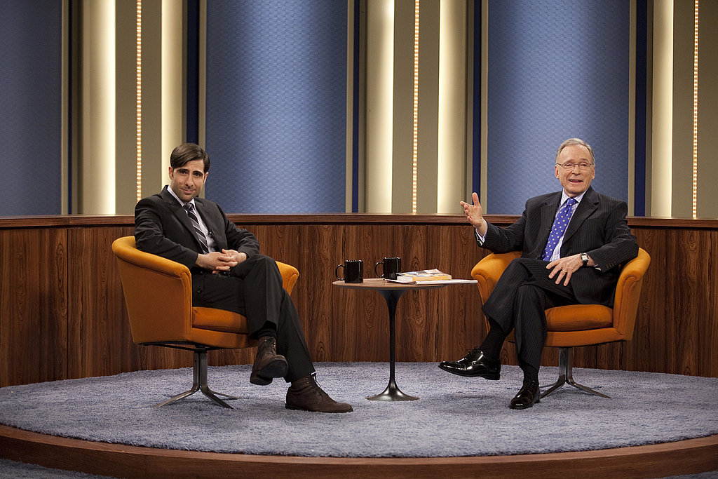 Jason Schwartzman as Jonathan Ames and Dick Cavett on Bored to Death.  Photo courtesy of HBO